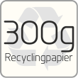 300g Recyclingpapier